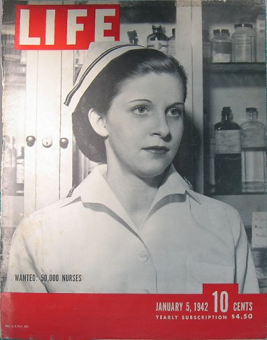 Cover of Life magazine, 1/5/42