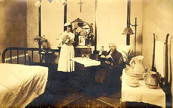 unindentified nurse and patient