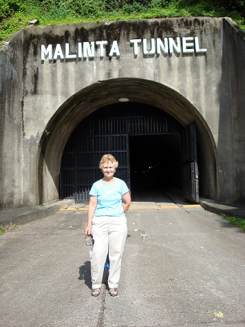 Entrance to Malinta Tunnel
