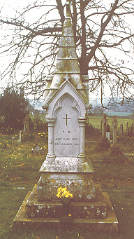 Photo of Florence Nightingale's grave by JoAnn Widerquist