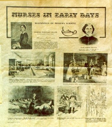 Early Days of Nursing Poster