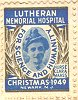 Hospital Christmas stamp honoring Clara L. Maass